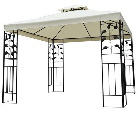 Alu Pavillon 3x3m by Garten Pavillon Gazebo 3x3m Shop Gonser