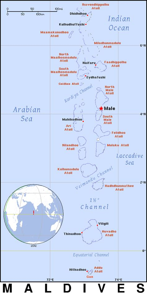 maldives is in which country map malediven bergen karte