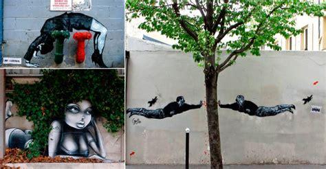 dessins de street art impressionnants une technique