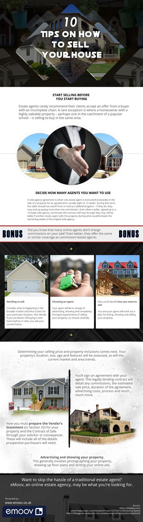 10 tips on how to sell your house infographix directory