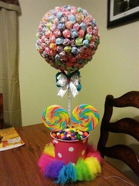 Dyland Theme Centerpiece Diy Lollipop Tree Make It