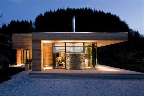 Contemporary Cabin modern cabin norway bjerg 248 y residence gj 9 e architect