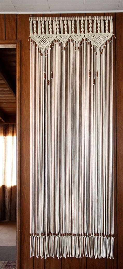 door way curtains bead fringed door curtain in macrame