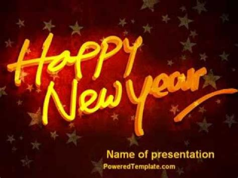new year theme ppt happy new year theme powerpoint template by
