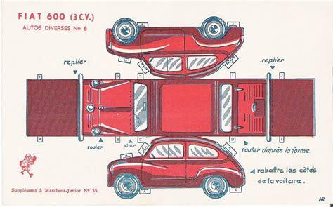 Paper Folding Car - recortables tecnolog 237 a obsoleta
