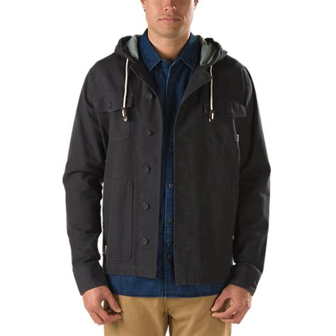 Jaket Vans Jaket Motif Logo Navy lismore jacket shop jackets at vans