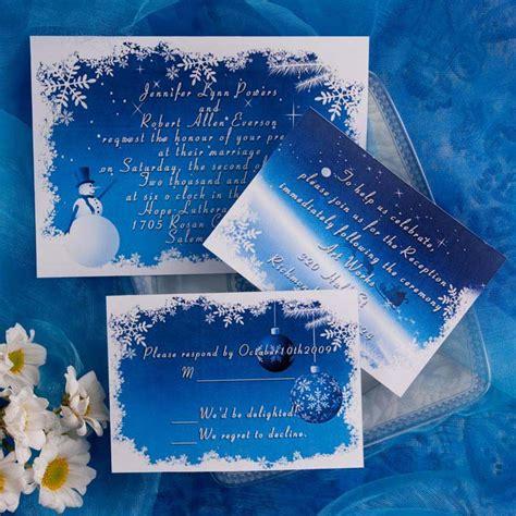 winter theme wedding invitations 35 breathtaking winter inspired wedding ideas
