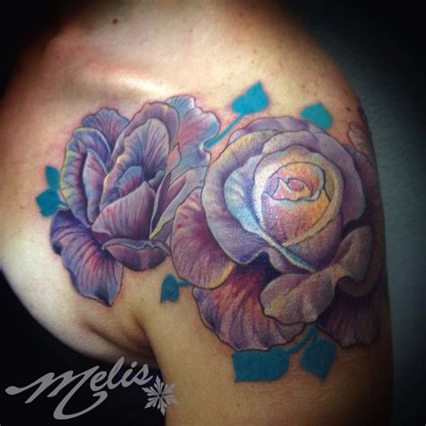 melissa tattoo roses of a different tone by fusco tattoonow