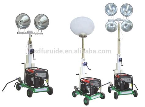 Portable Light Towers by Wacker Style Mobile Light Tower With Kipor Diesel