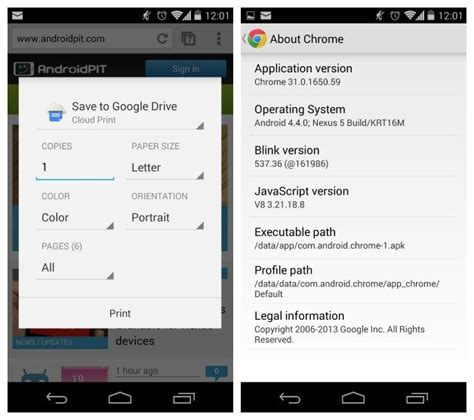 chrome updates for android chrome v31 update for android released androidpit