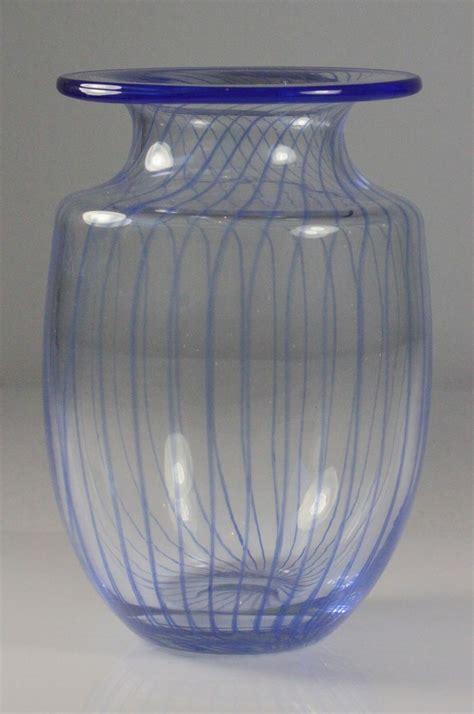 Kosta Boda Vase by Kosta Boda Striped Vase By Kjell Engman From