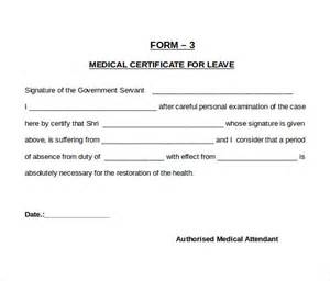 sample medical certificate 31 download documents in pdf