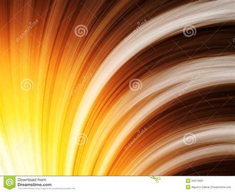 yellow brown yellow brown orange waves background on black stock image