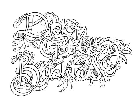 Coloring Page Words by Pin By Tamie White On Swear Words Coloring Pages