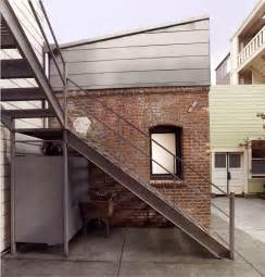 Industrial Style Floor L Tiny Industrial Style Guest House Conversion