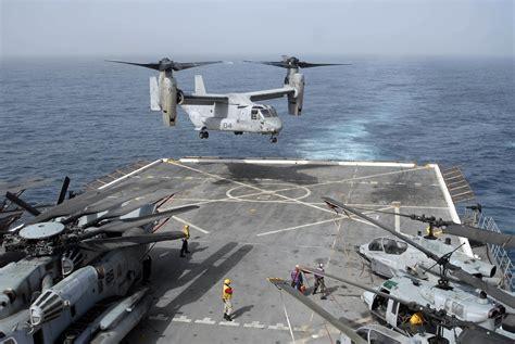 catamaran aircraft carrier wiki file us navy 100617 n 3358s 042 an mv 22b osprey assigned