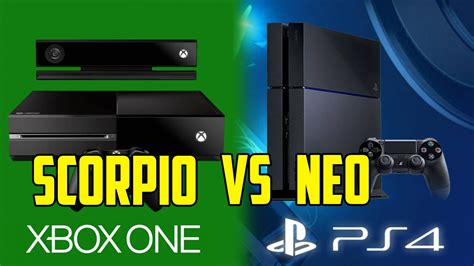 ps4 vs xbox one console xbox one scorpio vs ps4 neo which one to choose