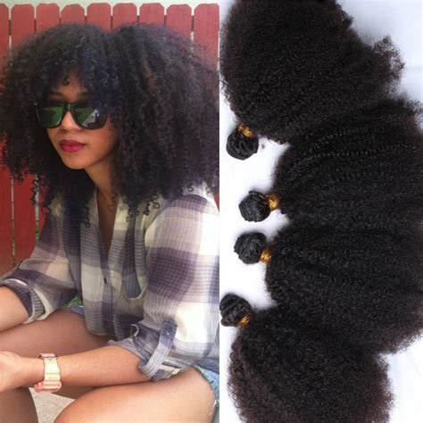 kinky hairpieces for black women aliexpress com buy 8a mongolian kinky curly virgin hair
