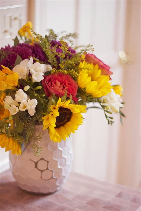 diy flower arrangements diy fall flower arrangement plant a seed pinterest