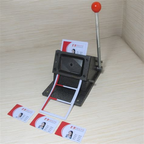 die cutters for card china sale manual pvc card die cutter normal size