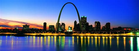 st louis scaling the the gateway arch in st louis missouri