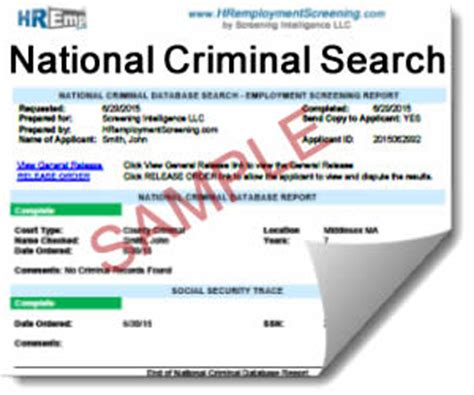 National Arrest Records Database Instant Background Search Criminal History Records Doj Criminal Background Check