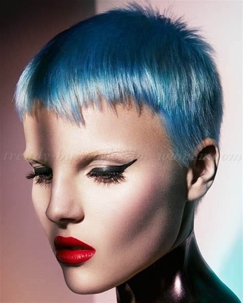 hairstyles and colors for short hair short hairstyles blue hair color trendy hairstyles for