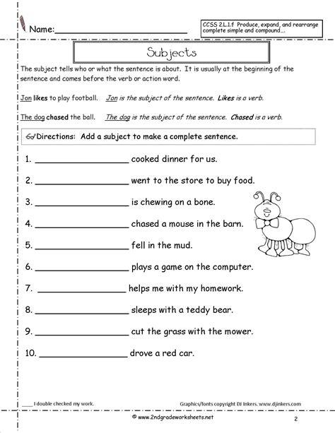 types of sheets kinds of sentences worksheet lesupercoin printables
