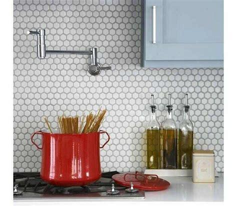 modern kitchen backsplash tiles co decorative materials 17 best images about round mosaic tiles white penny