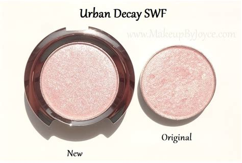 Eyeshadow Decay Original makeupbyjoyce swatches comparison decay new