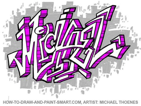 draw graffiti letters write    graffiti