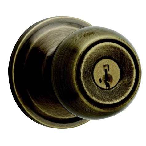 Weiser Door Knobs weiser huntington antique brass residential door knob