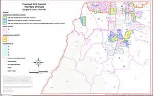 douglas county colorado map growth prompts voter precinct changes in douglas county co