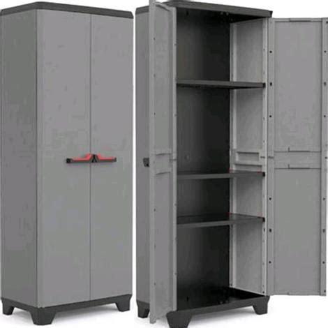 armadio resina esterno kis stilo armadio da esterno in resina tuttopiani basic 2