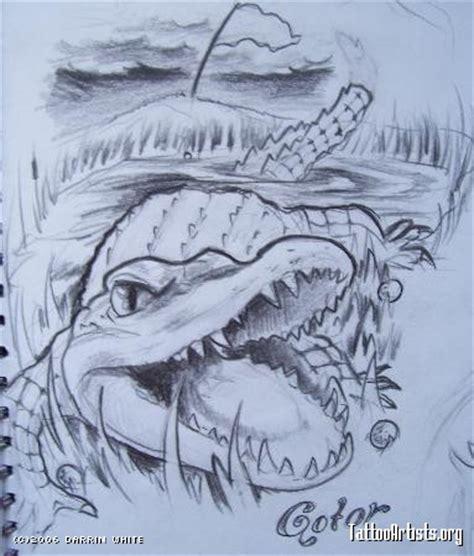 new school alligator tattoo alligator tattoo artists org