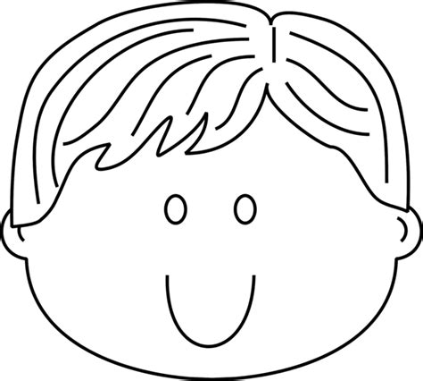 free girl with no face coloring pages