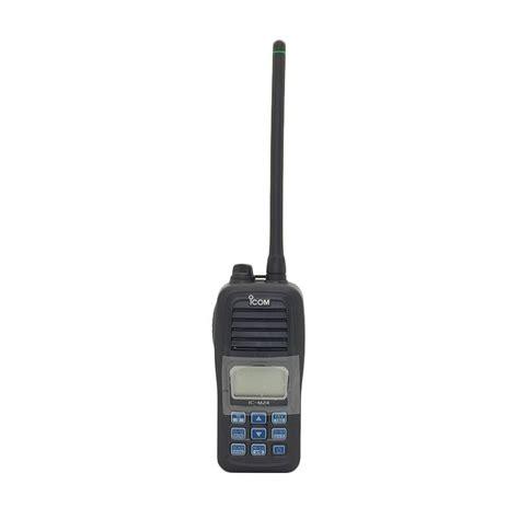 jual icom ic m24 ht vhf marine transceiver hitam harga kualitas terjamin blibli