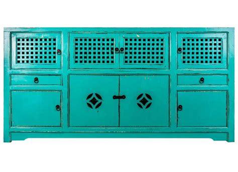 aparador turquesa aparador oriental azul turquesa original house