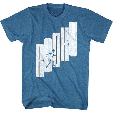 T Shirt Muhammad Ali Biru Royal rocky shirt rocky stairs royal t shirt rocky shirts