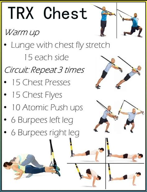 trx chest workout fit