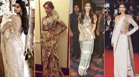 sonam kapoor hairstyles in saree 15 bollywood actresses who love to wear sarees g3fashion com