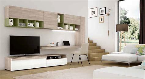 soggiorni porta tv pareti attrezzate soggiorno con scrivania soggiorno