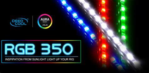 rgb led light installation deepcool rgb 350 computer lighting kit led multi