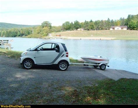 boat car joke funny pictures weirdnutdaily a boat for one