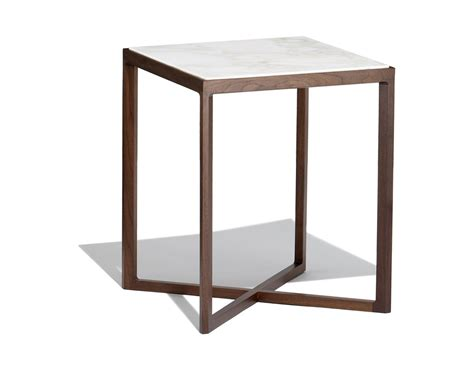 Side Table by Krusin 18 Quot H Square Side Table Hivemodern