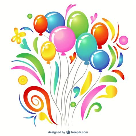 palloncini clipart colorful balloon clip vector free