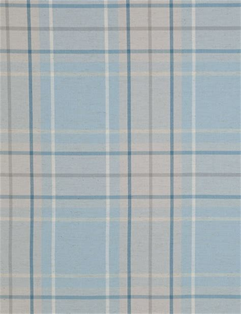 blue checked curtains curtain linen look check blue next made to measure