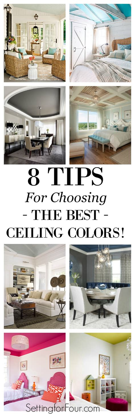 8 Tips On Deciding If The Is For You by 8 Tips For Choosing Beautiful Ceiling Colors Setting For