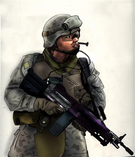 Imagenes De Soldados Realistas | rub 233 n aniorte ilustrador estilo realista