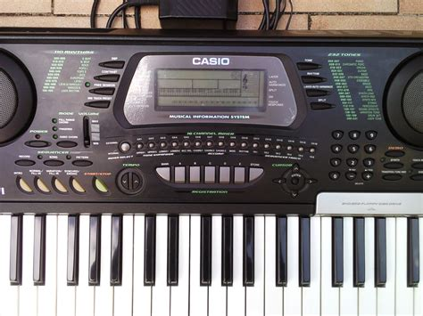 Keyboard Casio Ctk 731 casio ctk 731 image 589215 audiofanzine